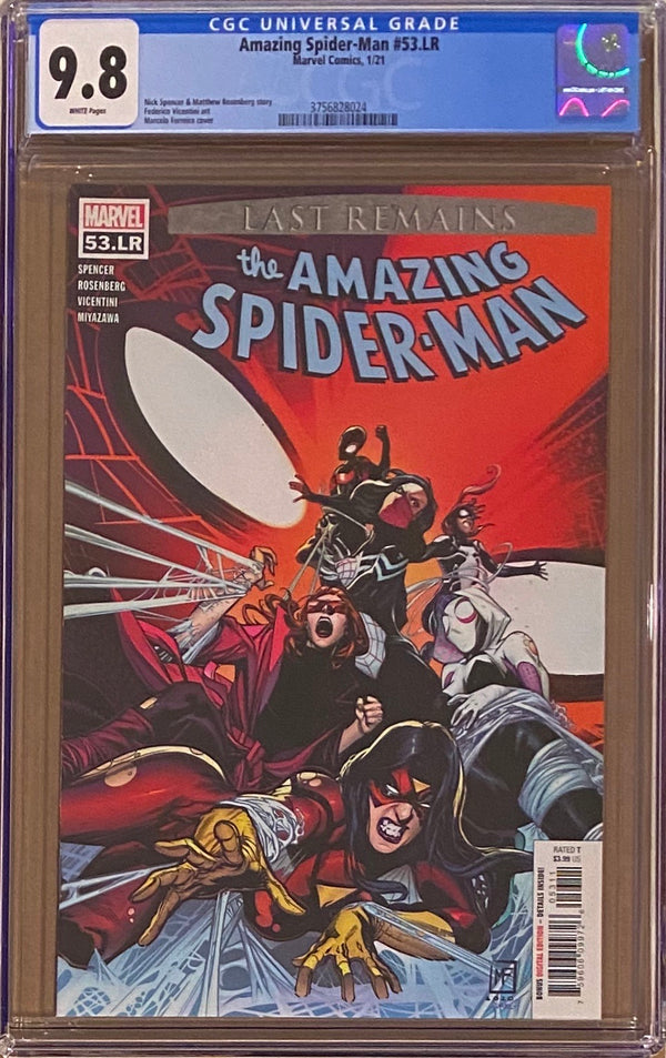 Amazing Spider-Man #53.LR CGC 9.8