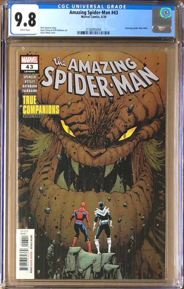 Amazing Spider-Man #43 CGC 9.8