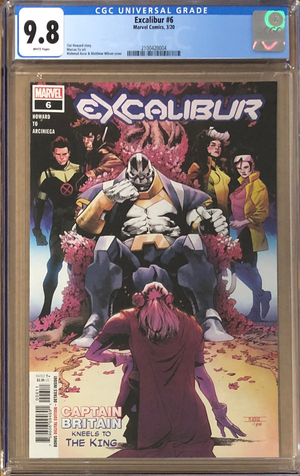 Excalibur #6 CGC 9.8 - Dawn of X!