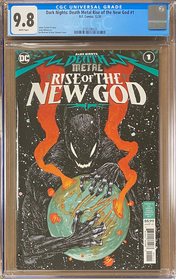 Dark Nights Death Metal: Rise of the New God #1 CGC 9.8