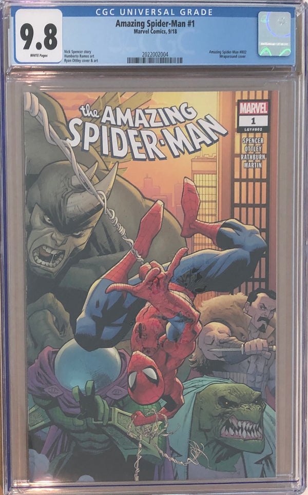 Amazing Spider-Man #1 CGC 9.8