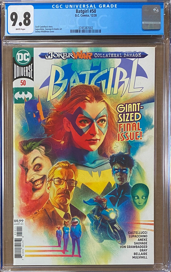 Batgirl #50 CGC 9.8 - First Appearance Ryan Wilder