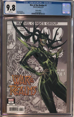 War of the Realms #1 J. Scott Campbell Variant CGC 9.8