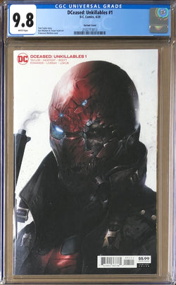 DCeased: Unkillables #1 Mattina Variant CGC 9.8