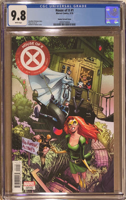 House of X #1 Ramos Party Variant CGC 9.8