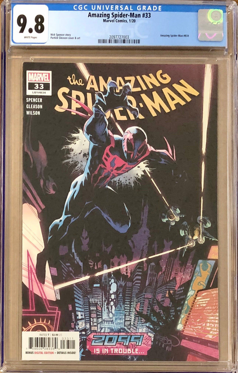 Amazing Spider-Man #33 CGC 9.8