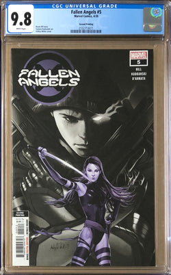 Fallen Angels #5 Second Printing CGC 9.8 - Dawn of X!