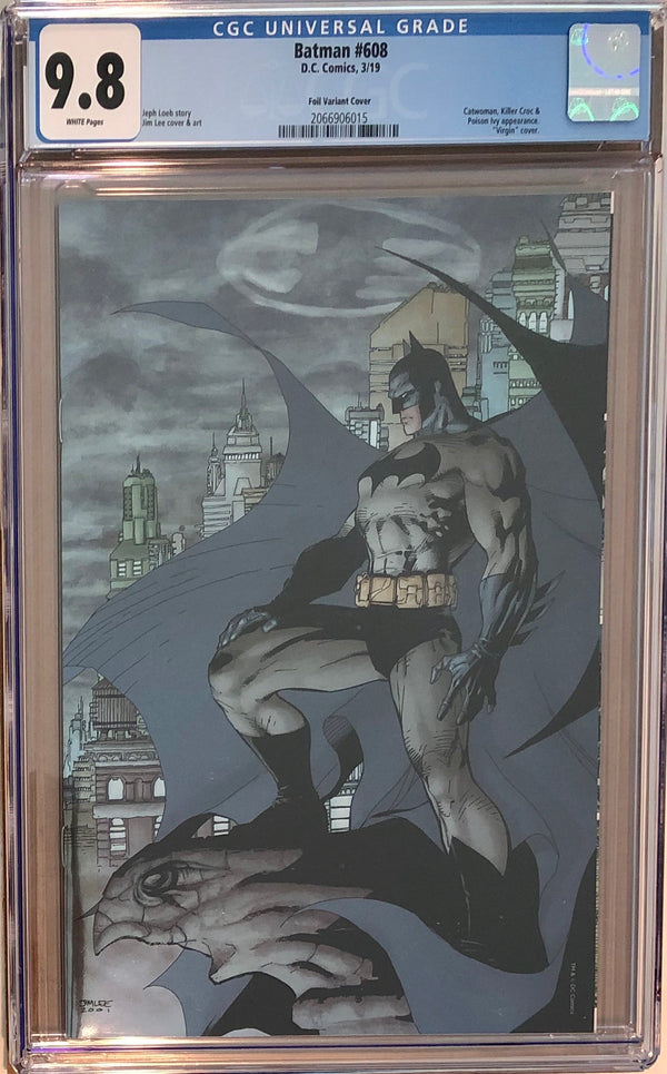 Batman #608 Jim Lee Second Printing Fan Expo Exclusive CGC 9.8
