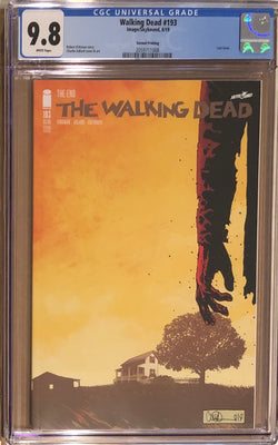 The Walking Dead #193 Second Printing CGC 9.8 - Final Issue!