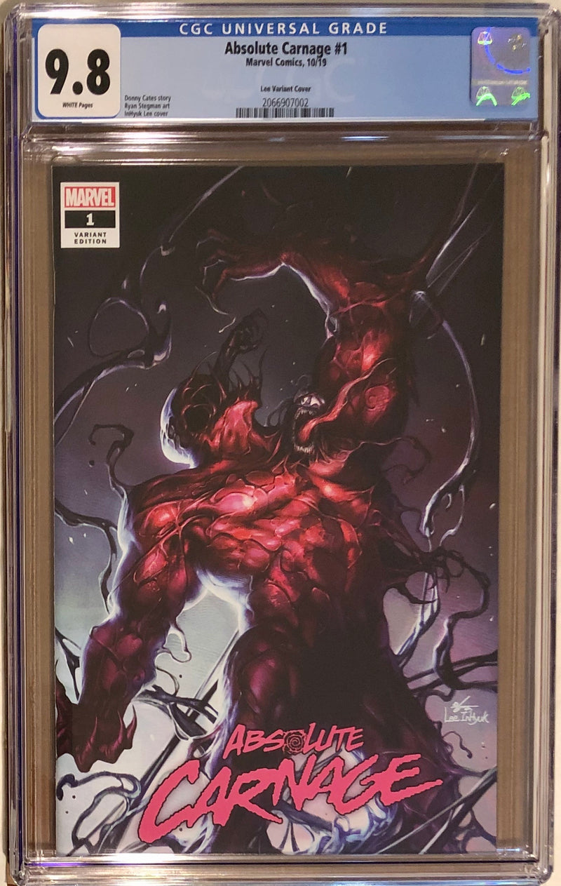 Absolute Carnage #1 InHyuk Lee Fan Expo Boston Exclusive CGC 9.8