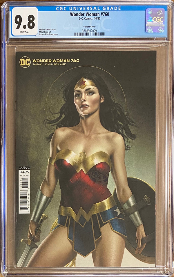 Wonder Woman #760 Middleton Variant CGC 9.8