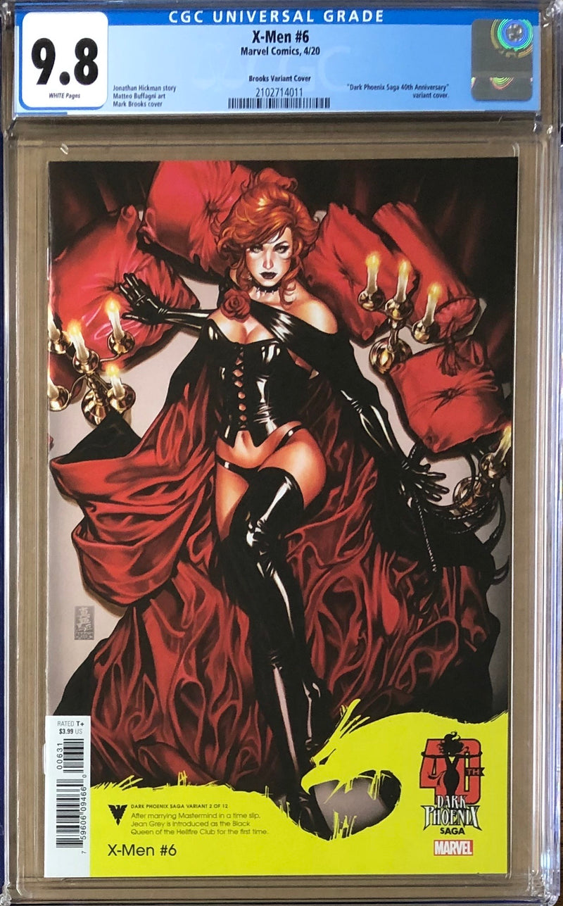 X-Men #6 Brooks Dark Phoenix Variant CGC 9.8