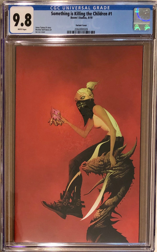 Something is Killing the Children #1 Variant CGC 9.8