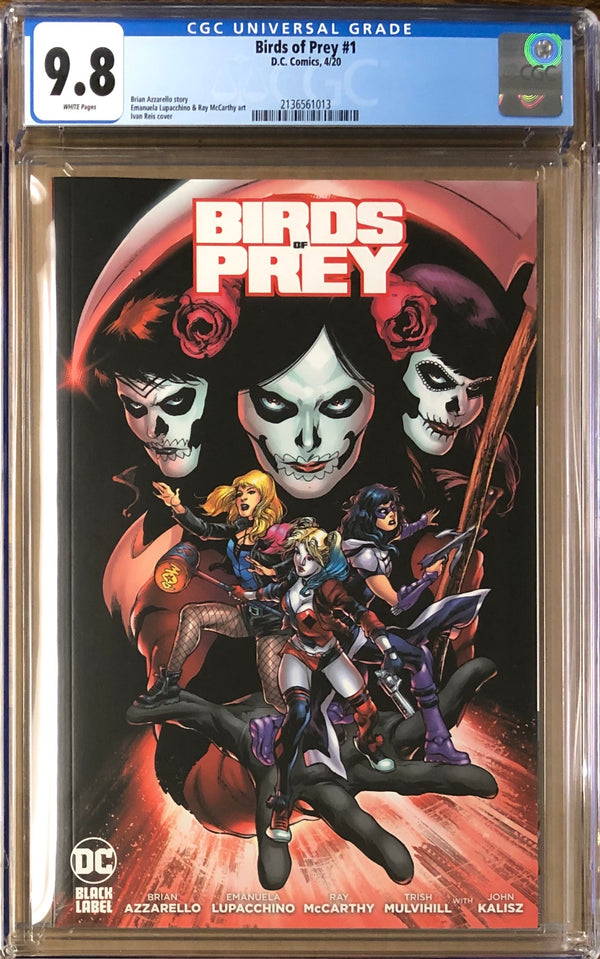 Birds of Prey #1 DC Black Label CGC 9.8