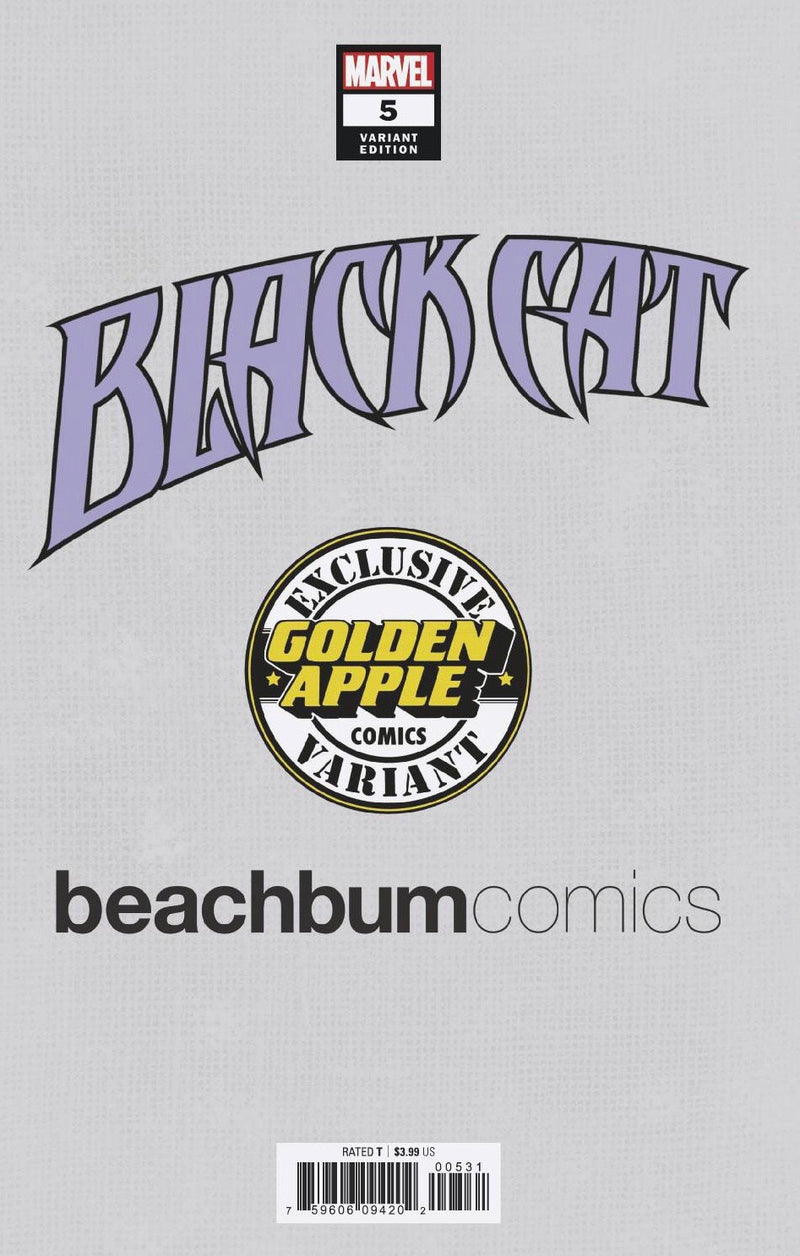 Black Cat #5 J. Scott Campbell BeachBum Comics Virgin Exclusive