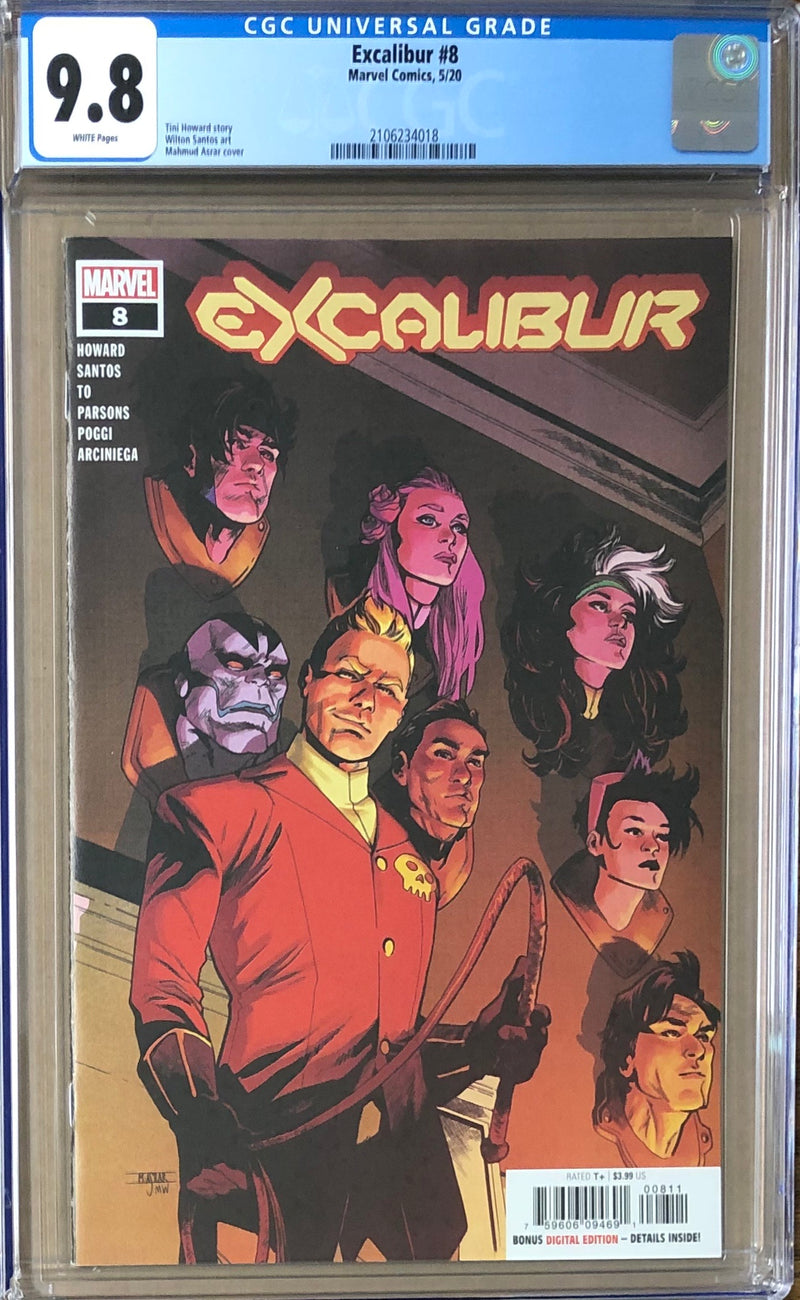 Excalibur #8 CGC 9.8 - Dawn of X!
