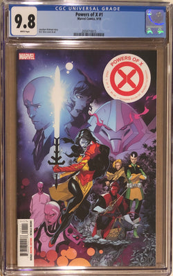 Powers of X #1 CGC 9.8