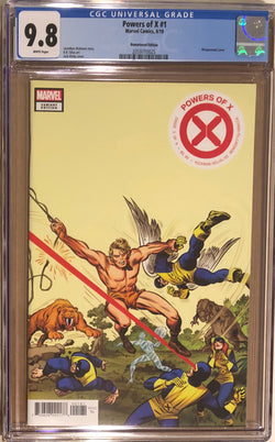 Powers of X #1 Kirby 1:100 Remastered Edition Variant CGC 9.8