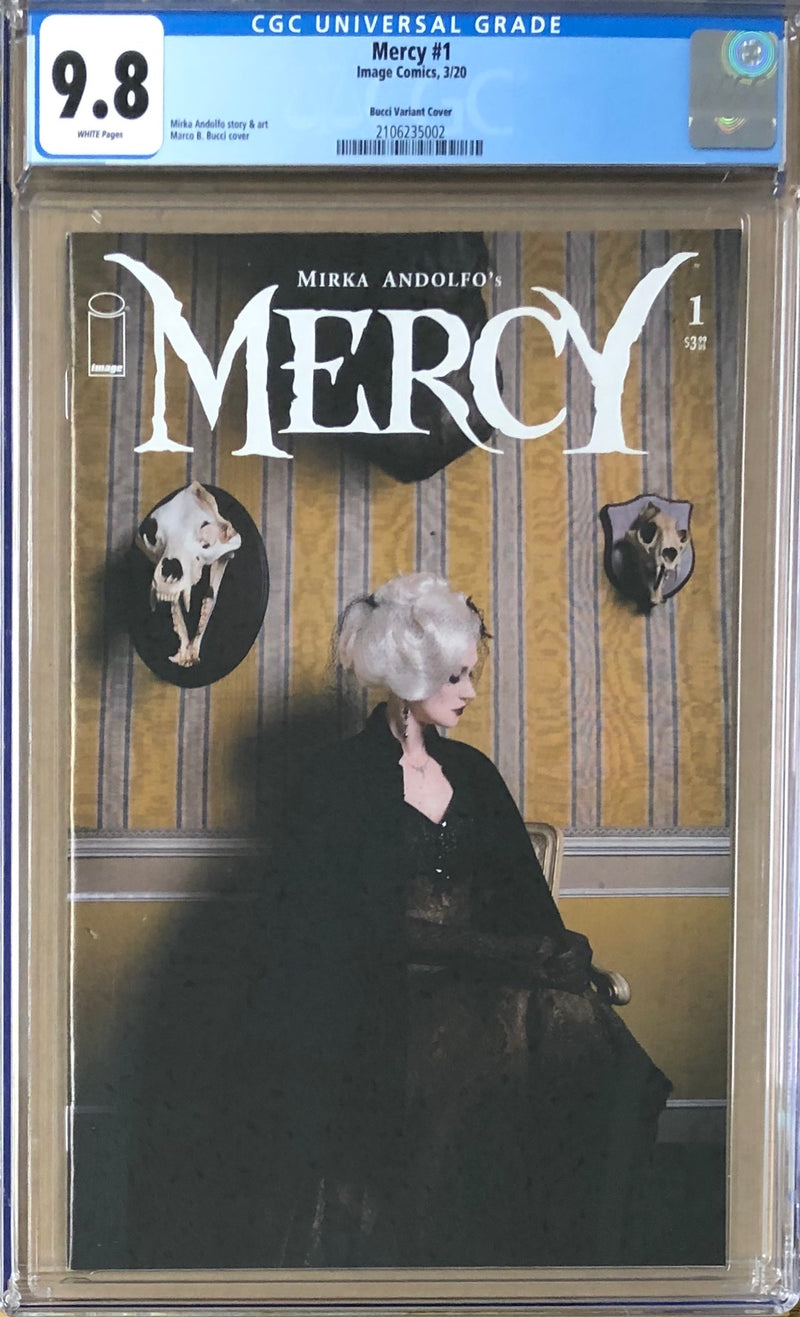 Mercy #1 Marini Photo Cover Variant E CGC 9.8