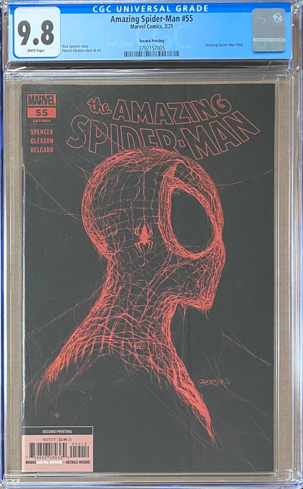 Amazing Spider-Man #55 Second Printing CGC 9.8