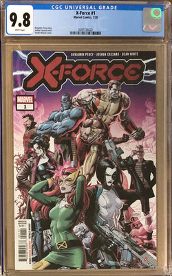 X-Force #1 CGC 9.8 - Dawn of X!