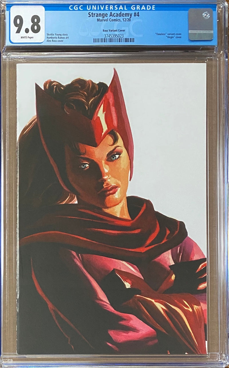 STRANGE ACADEMY #4 ALEX ROSS TIMELESS VARIANT 10//28//20 FREE SHIPPING AVAILABLE