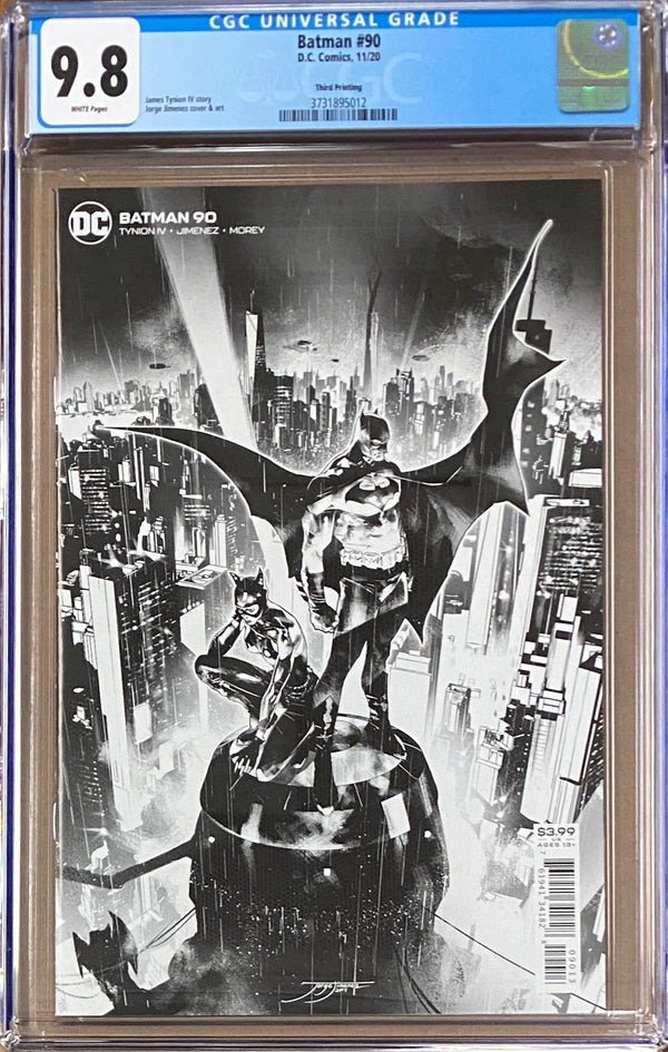 Batman #90 Third Printing CGC 9.8 1st Appearance of The Designer