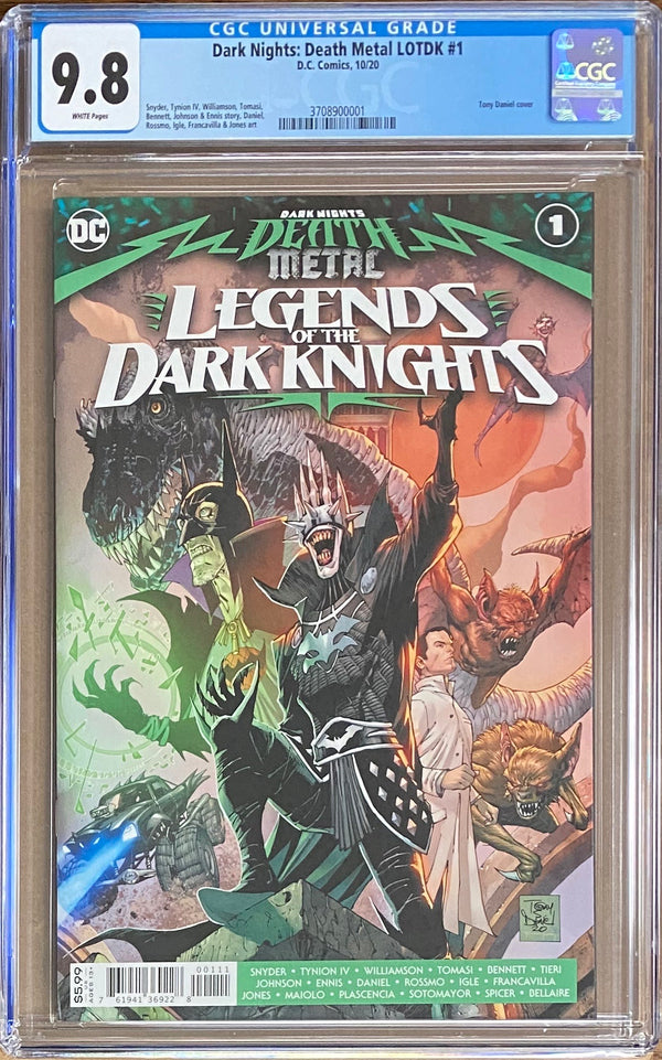 Dark Nights Death Metal: Legends of the Dark Knights #1 CGC 9.8