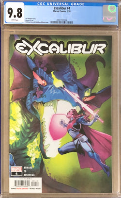 Excalibur #4 CGC 9.8 - Dawn of X!