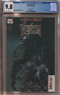 Venom #15 Secret Variant CGC 9.8
