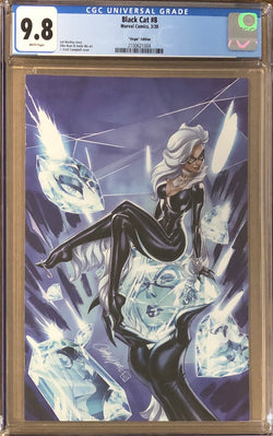 "Black Cat #8 J. Scott Campbell ""Virgin Series"" Exclusive CGC 9.8"
