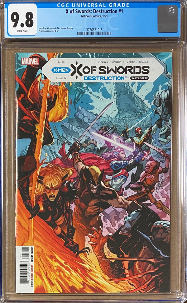 X of Swords: Destruction #1 CGC 9.8