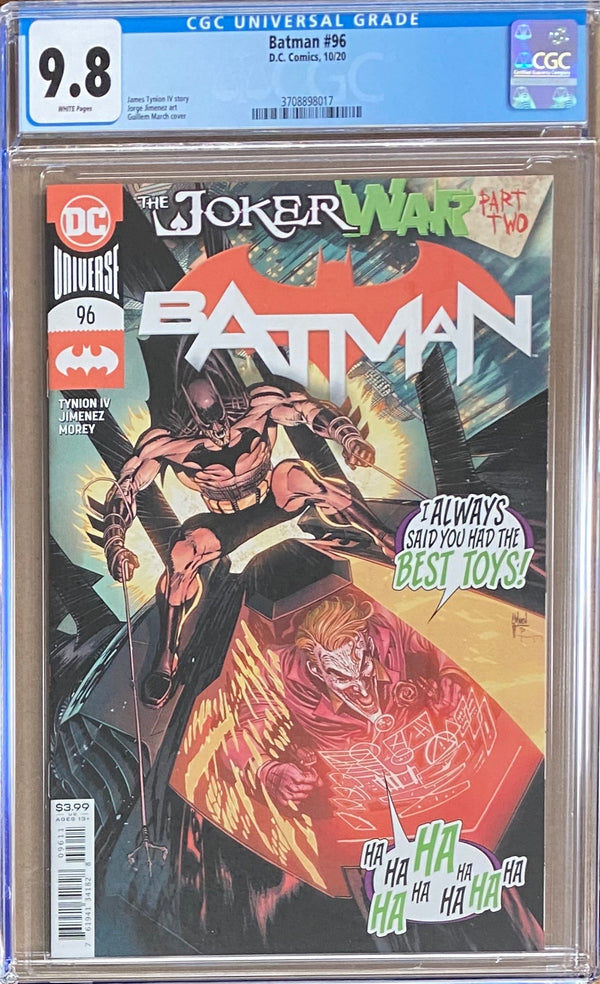 Batman #96 CGC 9.8 - First appearance Clownhunter