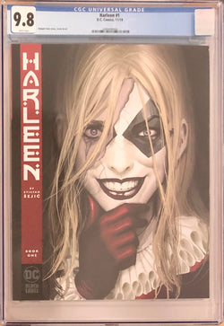 Harleen #1 DC Black Label CGC 9.8