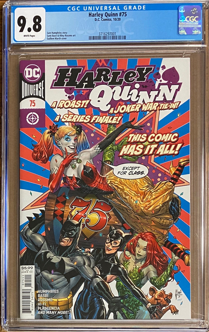 Harley Quinn #75 CGC 9.8 - Final Issue!