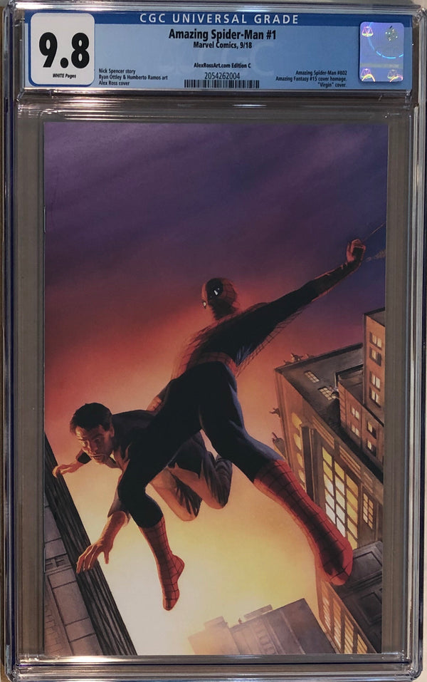 Amazing Spider-Man #1 Alex Ross Variant C CGC 9.8