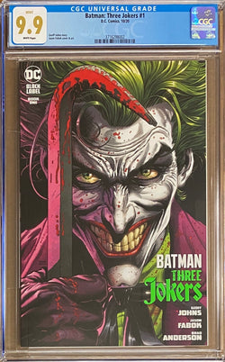Batman: Three Jokers #1 DC Black Label CGC 9.9