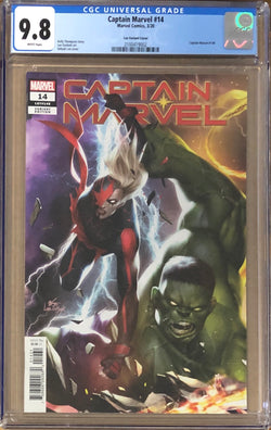 Captain Marvel #14 InHyuk Lee Connecting Variant CGC 9.8