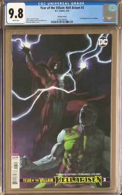 Year of the Villain: Hell Arisen #3 Variant CGC 9.8 - 1st Full Appearance of Punchline