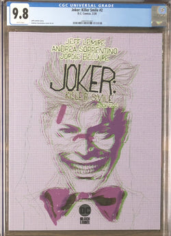 Joker: Killer Smile #2 DC Black Label CGC 9.8