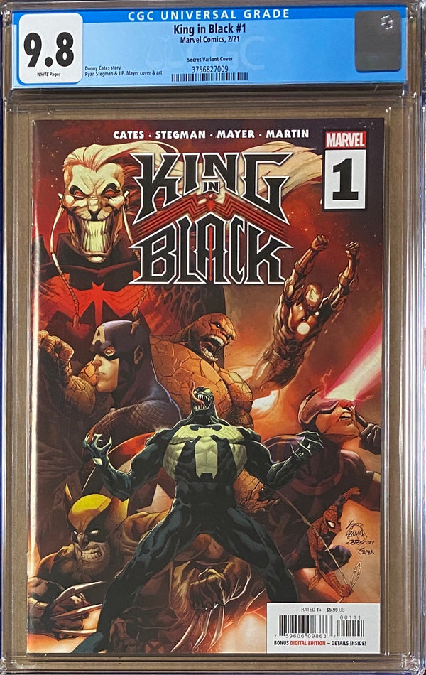 King in Black #1 Thing Secret Variant CGC 9.8