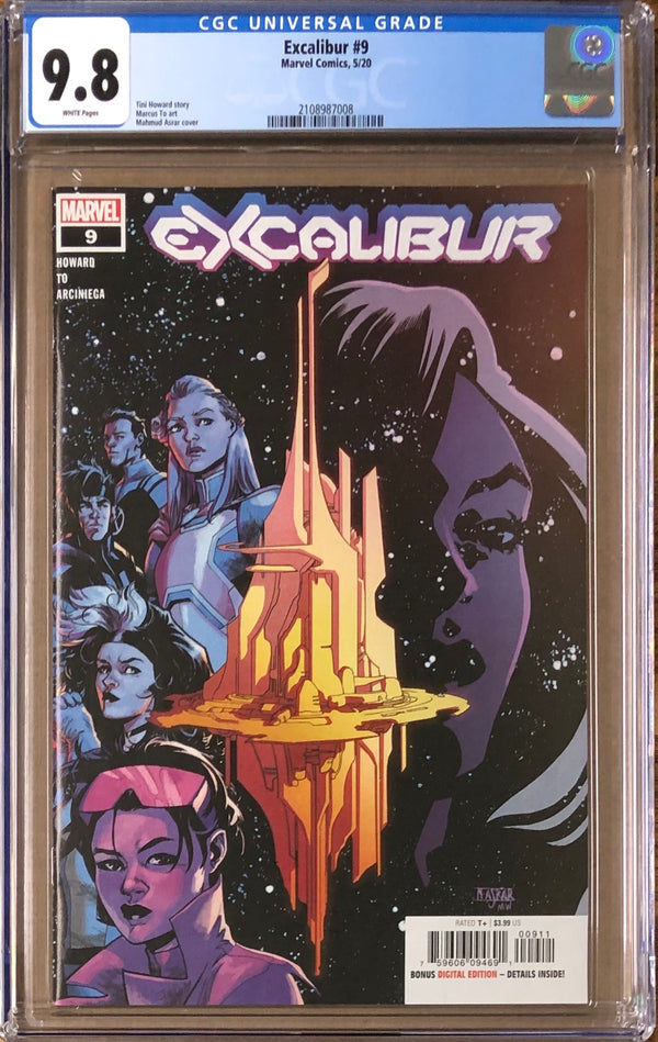 Excalibur #9 CGC 9.8 - Dawn of X!