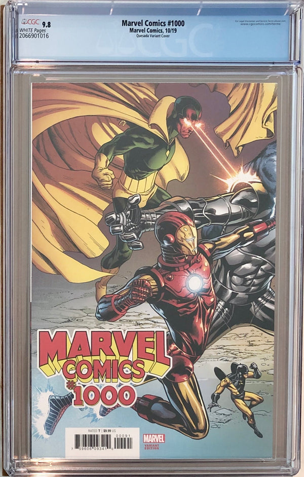 Marvel Comics #1000 Quesada Wraparound Variant CGC 9.8