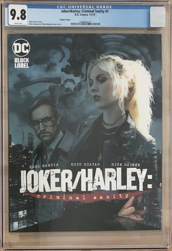 Joker/Harley: Criminal Sanity #1 Mayhew Variant Cover DC Black Label CGC 9.8