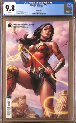 Wonder Woman #755 MacDonald Variant CGC 9.8