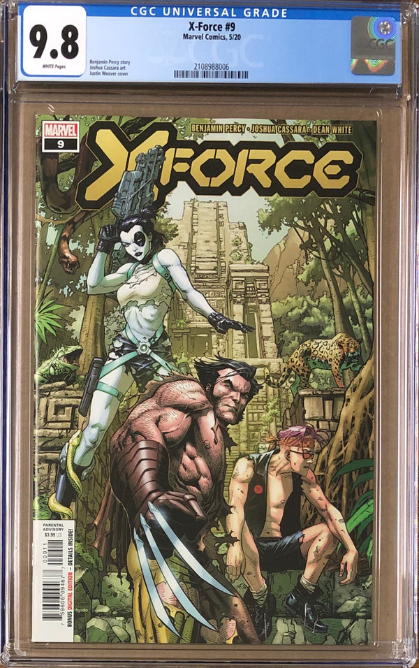 X-Force #9 CGC 9.8 - Dawn of X!