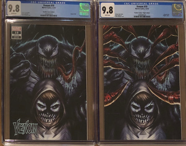 Venom #19 Tyler Kirkham BeachBum Comics Exclusive Regular/Virgin CGC 9.8 Set