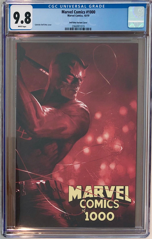 Marvel Comics #1000 Dell'Otto Variant CGC 9.8
