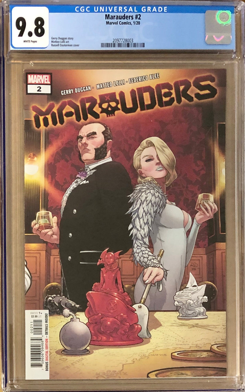 Marauders #2 CGC 9.8 - Dawn of X!