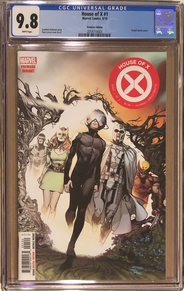 House of X #1 Premiere Edition Variant CGC 9.8